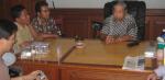 Tim APCG (Asia Pacific Coordination Group) mengunjungi Gusdur